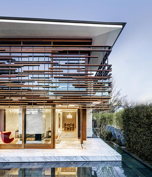 Floating House, Residential House, Kerrisdale, Vancouver, Modern Architecture