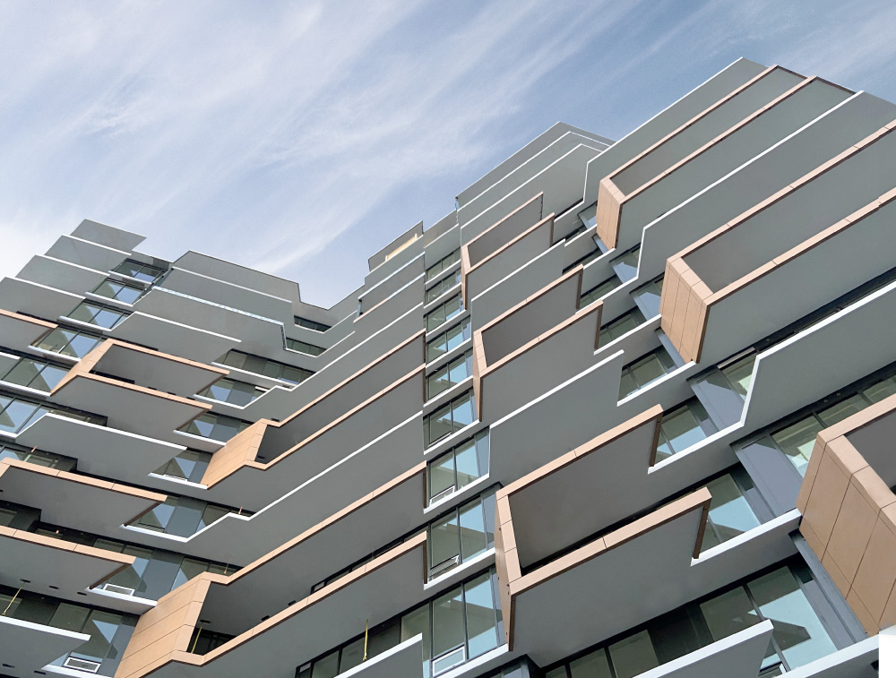 Arno Matis Architecture - Wind-Shaped Tower Residential Condo - Semiah by Marcon, Whiterock, Modern Architecture Greater Vancouver